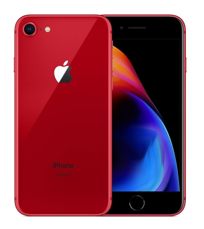 iPhone 8 Rouge Reconditionné Grade Premium