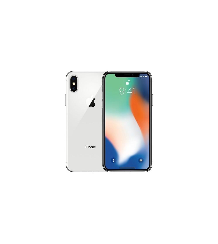 iPhone X 64 Go   - Argent - Débloqué